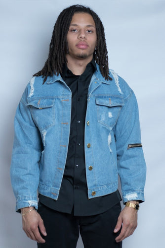 Clearback Denim Jacket