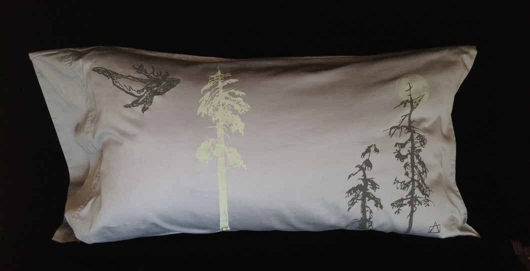 Night-Glow upcycled KING + pillowcase