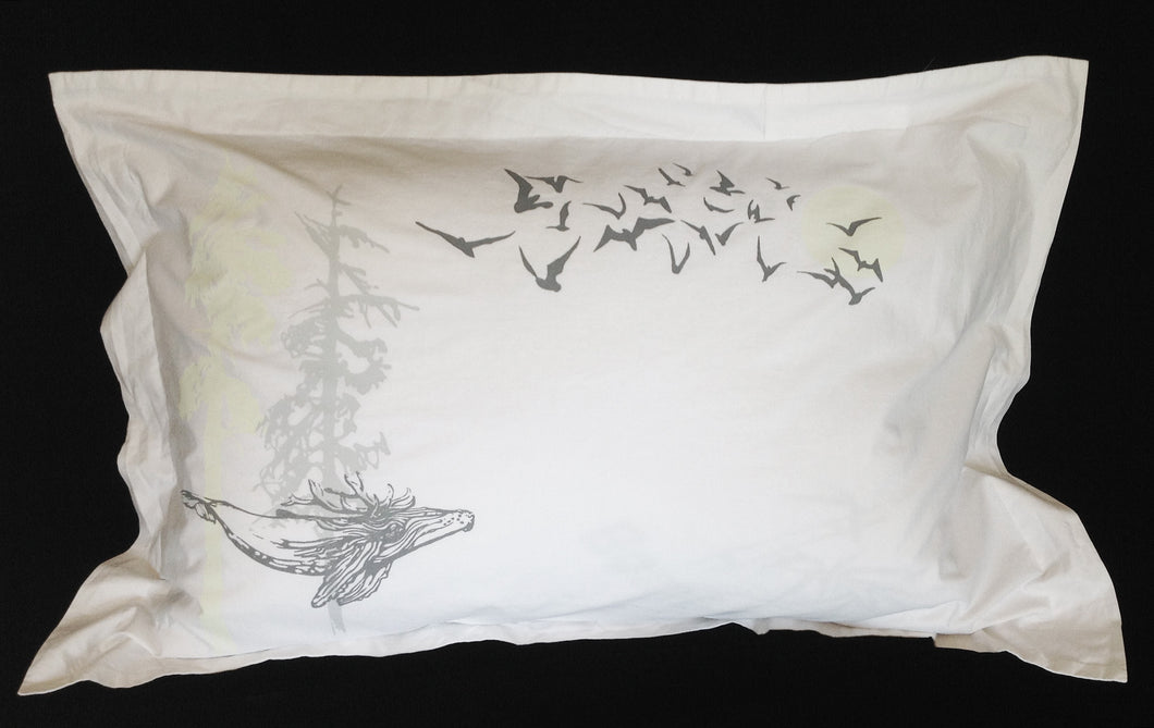 Night-Glow queen pillow sham