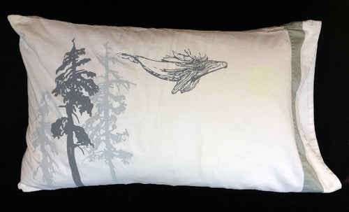 Night-Glow upcycled queen pillowcase-nearly perfect