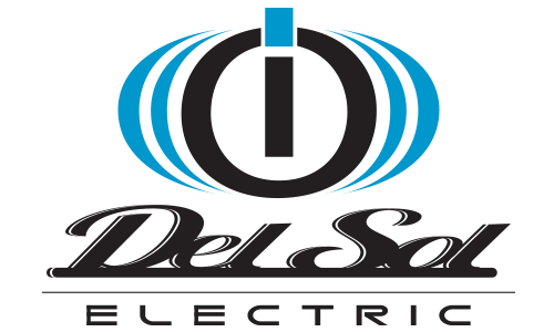 Del Sol logo i/O electric black