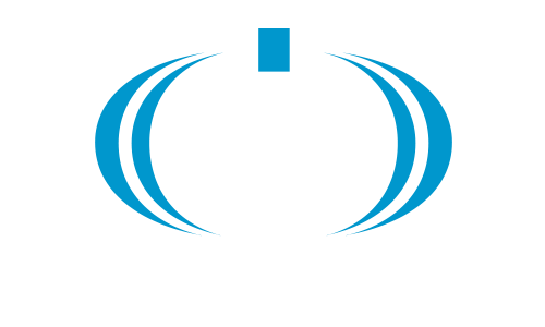 i/O electric logo white