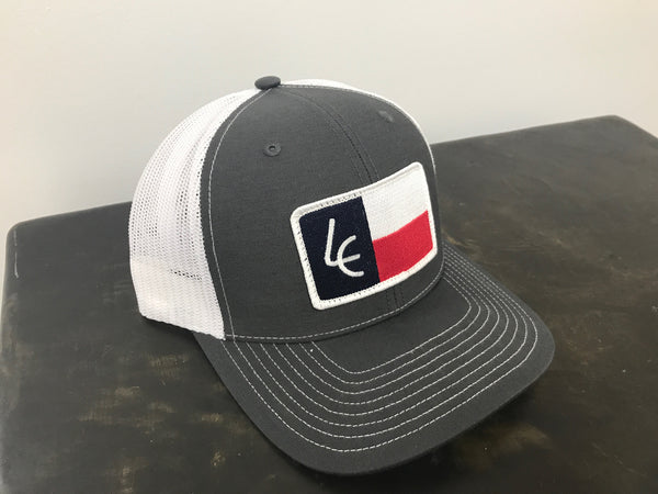 Charcoal/White Texas Patch - Richardson 112