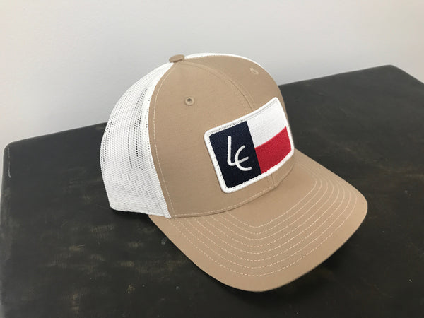 Khaki/White Texas Patch - Richardson 112