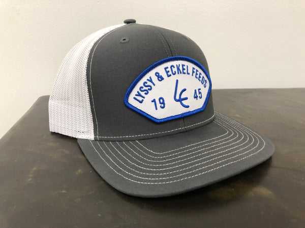 1945 Blue/White Patch Hat - Richardson 112