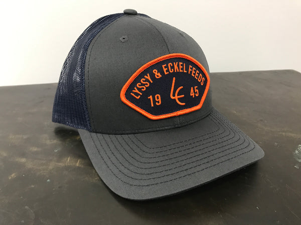 1945 Navy/Orange Patch Hat - Richardson 112