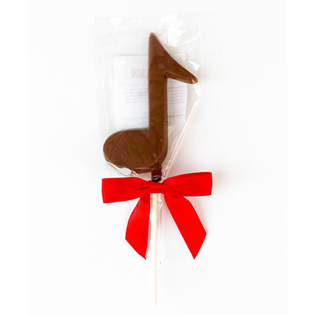 MUSIC NOTE BELGIAN CHOCOLATE POP