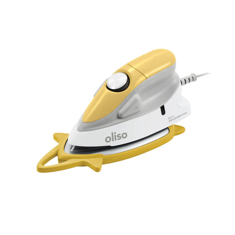 Oliso - Mini Project Iron with Trivet (YELLOW)