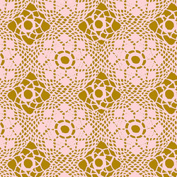 Manufacturer: Andover Fabrics Designer: Alison Glass Collection: Handiwork Print Name: Crochet in Blush Material: 100% Cotton  Weight: Quilting  SKU: A-9253-E Width: 44 inches