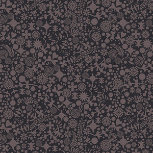 Manufacturer: Andover Fabrics Designer: Alison Glass Collection: Art Theory Print Name: Endpaper in Black Material: 100% Cotton Weight: Quilting  SKU: A-9706-C Width: 44 inches
