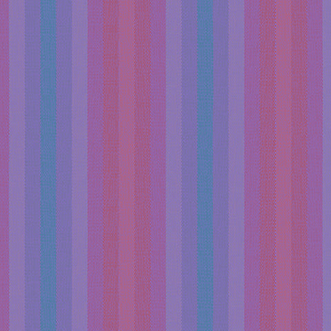 Manufacturer: Andover Fabrics Designer: Alison Glass Collection: Kaleidoscope - Stripes and Plaids Print Name: Stripe in Thistle Material: 100% Cotton Weight: Quilting  SKU: WV-9540-THISTLE Width: 44 inches
