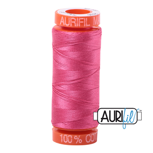 1 small spool 50wt: 5530 Blossom Pink.  220yds.