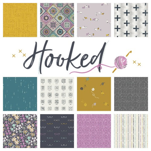 PREORDER || Art Gallery Fabrics - Hooked - FAT QUARTER BUNDLE - AUGUST 2020