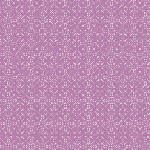Manufacturer: Art Gallery Fabrics Collection: Hooked Designer: Mathew Boudreaux Print Name:  Spaces in Between Silk Material: 100% Cotton  Weight: Quilting  SKU: HKD-22651 Width: 44 inches