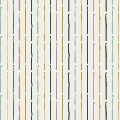 Manufacturer: Art Gallery Fabrics Collection: Hooked Designer: Mathew Boudreaux Print Name:  Maker's Tool Material: 100% Cotton  Weight: Quilting  SKU: HKD-22655 Width: 44 inches