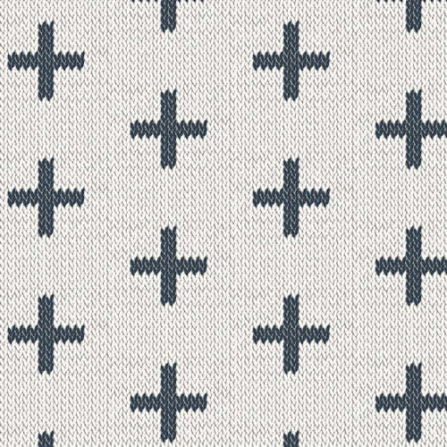 Manufacturer: Art Gallery Fabrics Collection: Hooked Designer: Mathew Boudreaux Print Name:  Chain Stitch Crosses Material: 100% Cotton  Weight: Quilting  SKU: HKD-22657 Width: 44 inches
