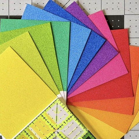 This FAT QUARTER BUNDLE contains 12 quilting cotton prints from Phosphor by Libs Elliott for Andover abrics  Manufacturer: Andover Fabrics Designer: Libs Elliott Collection: Phosphor Material: 100% Cotton  Weight: Quilting