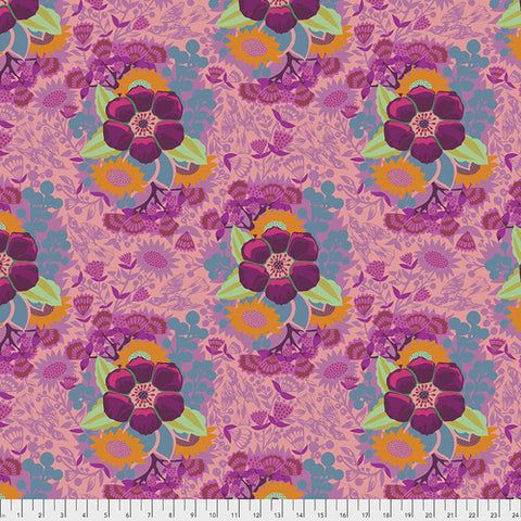 Manufacturer: FreeSpirit Fabrics Designer: Anna Maria Horner Collection: Hindsight Print Name: Patchwork in Rose Material: 100% Cotton  Weight: Quilting  SKU: PWAH145.Rose Width: 44 inches