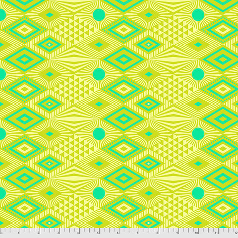 Manufacturer: FreeSpirit Fabrics Designer: Tula Pink Collection: Daydreamer Print Name: Lucy in Pineapple Material: 100% Cotton  Weight: Quilting  SKU: PWTP096.PINEAPPLE Width: 44 inches