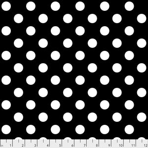 Manufacturer: FreeSpirit Fabrics Designer: Tula Pink Collection: Linework Print Name: Pom Poms in Ink Material: 100% Cotton  Weight: Quilting  SKU: PWTP118.INK Width: 44 inches