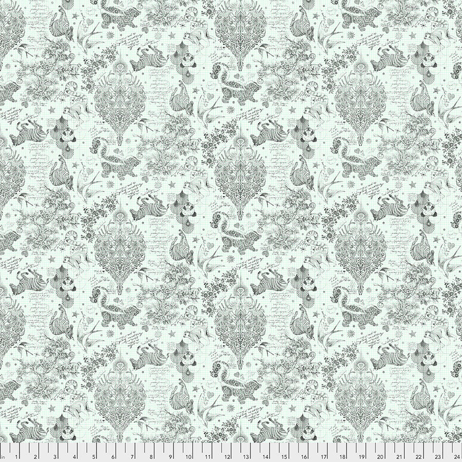 Manufacturer: FreeSpirit Fabrics Designer: Tula Pink Collection: Linework Print Name: Sketchy in Paper Material: 100% Cotton  Weight: Quilting  SKU: PWTP158.PAPER Width: 44 inches