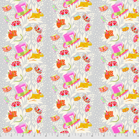 Manufacturer: FreeSpirit Fabrics Designer: Tula Pink Collection: Curiouser & Curiouser Print Name: 6pm Somewhere in Wonder Material: 100% Cotton  Weight: Quilting  SKU: PWTP165.WONDER Width: 44 inches