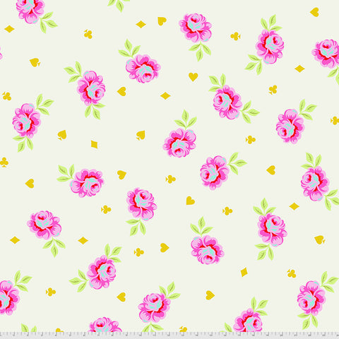 Manufacturer: FreeSpirit Fabrics Designer: Tula Pink Collection: Curiouser & Curiouser Print Name: Big Buds in Wonder  WIDEBACK Material: 100% Cotton  Weight: Quilting  SKU: QBTP006.WONDER Width: 108 inches