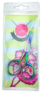 Tula Pink Hardware - Large Ring Micro Tip 4 inch Scissor