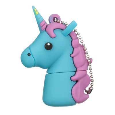 Tula Pink Hardware - Unicorn 16GB USB Stick (Blue)