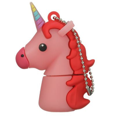 Tula Pink Hardware - Unicorn 16GB USB Stick (Pink)