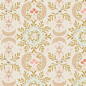Manufacturer: Art Gallery Fabrics Collection: Velvet Designer: Amy Sinibaldi Print Name:  Firefly Awaken Material: 100% Cotton  Weight: Quilting  SKU: VLV-49650 Width: 44 inches