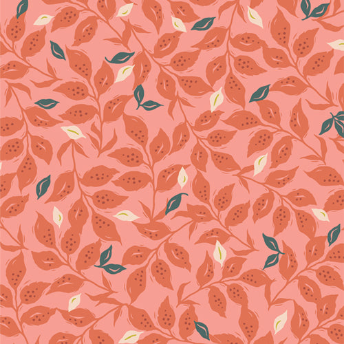 Manufacturer: Art Gallery Fabrics Collection: Velvet Designer: Amy Sinibaldi Print Name:  Woodcut Sunset Material: 100% Cotton  Weight: Quilting  SKU: VLV-49657 Width: 44 inches