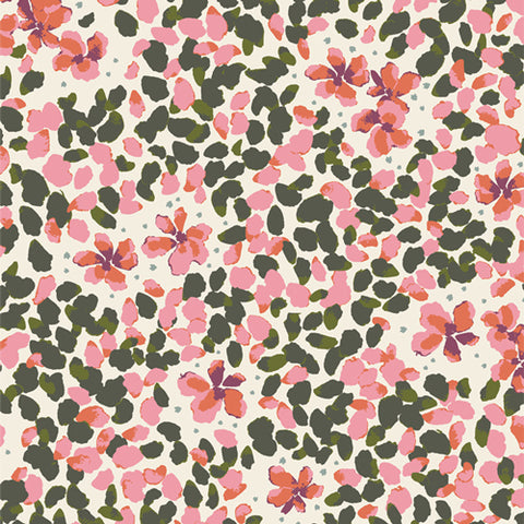 Manufacturer: Art Gallery Fabrics Collection: Velvet Designer: Amy Sinibaldi Print Name:  Jasmine Soulful Material: 100% Cotton  Weight: Quilting  SKU: VLV-59653 Width: 44 inches