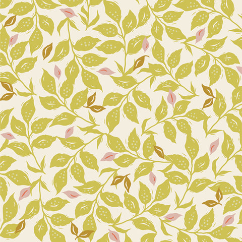 Manufacturer: Art Gallery Fabrics Collection: Velvet Designer: Amy Sinibaldi Print Name:  Woodcut Sunrise Material: 100% Cotton  Weight: Quilting  SKU: VLV-59657 Width: 44 inches