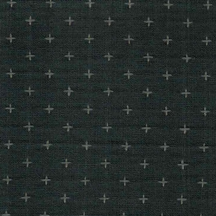 Manufacturer: Diamond Textiles Designer: Diamond Textiles Collection: Manchester Embroidered Cotton Print Name: French Grey Material: 100% Yarn Dyed Cotton SKU: 3187 Width: 44 inches