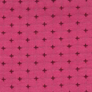 Manufacturer: Diamond Textiles Designer: Diamond Textiles Collection: Manchester Embroidered Cotton Print Name: Pink Plum Material: 100% Yarn Dyed Cotton SKU: 3203 Width: 44 inches