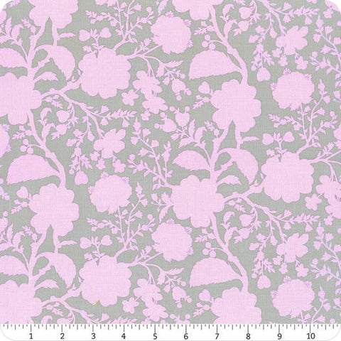 Manufacturer: FreeSpirit Fabrics Designer: Tula Pink Collection: True Color Print Name: Wildflower in Hydrangea Material: 100% Cotton  Weight: Quilting  SKU: PWTP149.HYDRANGEA Width: 44 inches