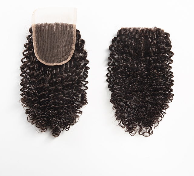 Bundle Deal - Brazilian Curly Lace Closure by Mayvenn Hair