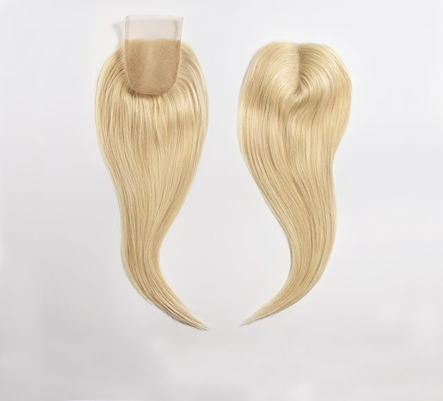 Blonde Indian Straight Lace Closure by Mayvenn Hair