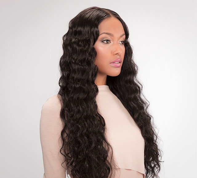 Brazilian Loose Wave Lace Front Wig by Mayvenn Hair