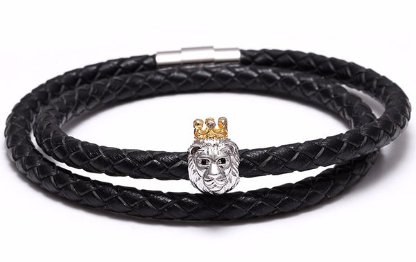 Crowned Lion Bracelet