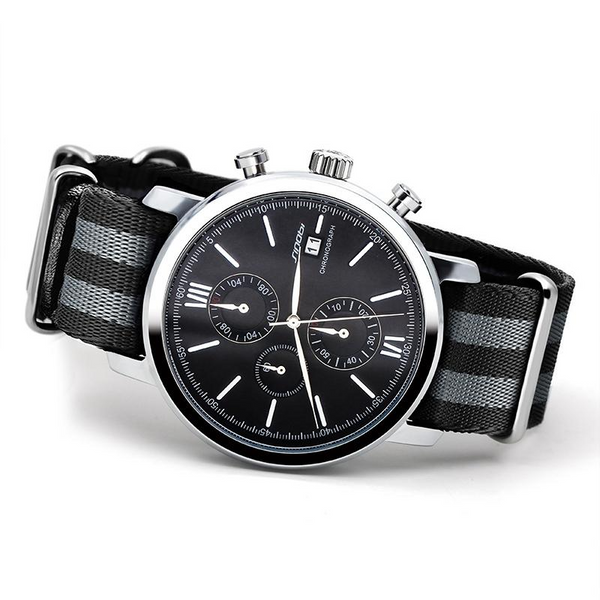 Mens James Bond Chronograph Quartz Wristwatch