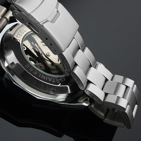 Image of Luxury skeleton Mechanical Watch [ 2 Variation ]