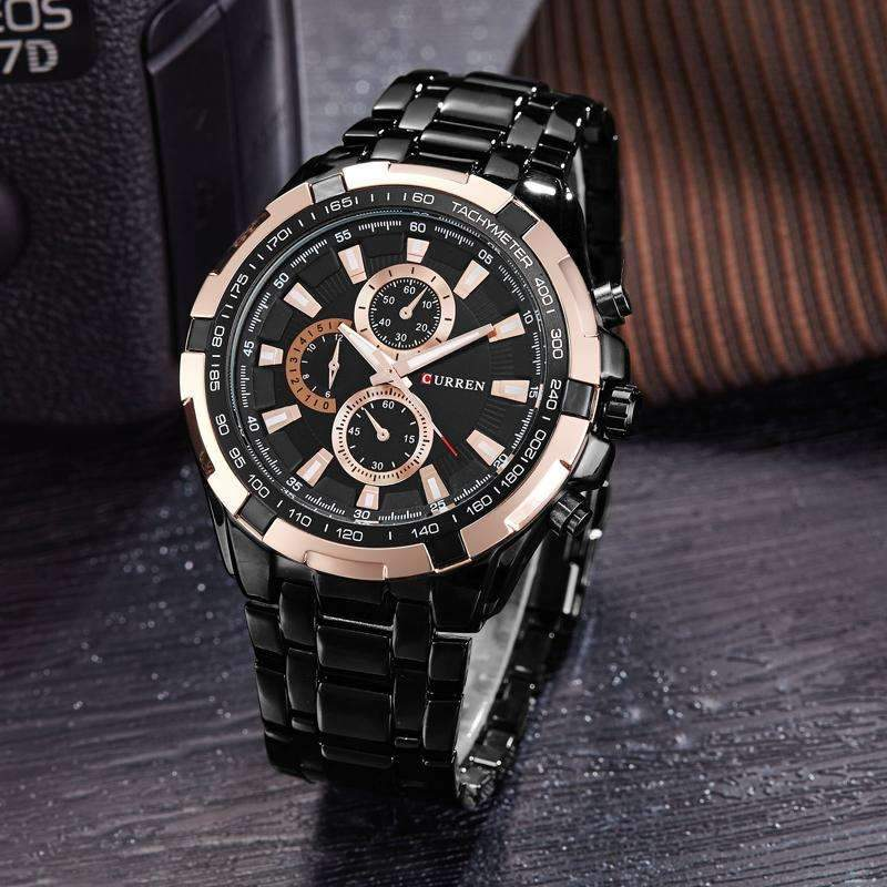 Men's Luxury Waterproof Wristwatch - [10 Variants ]