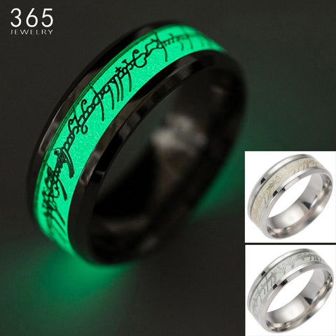 Image of Glow in Dark Lord Of The Rings, Ring [2 Variation ]
