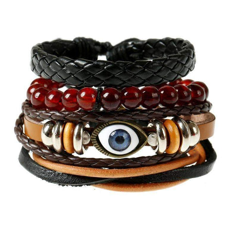 Image of Vintage Weave Leather Bracelet