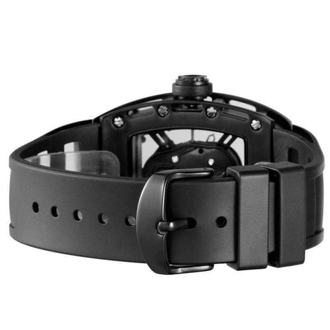 Men's See Through Skull Watch