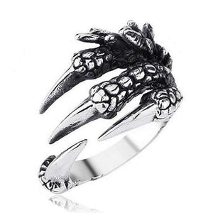 Men's Dragon Claw Ring - [4 Variants]