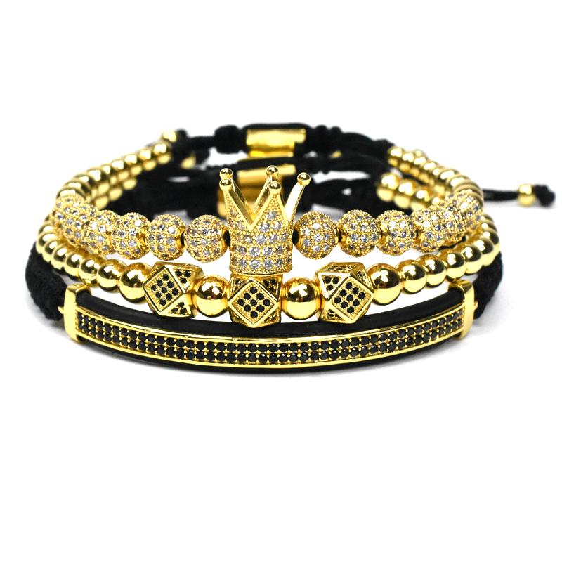 Royal Crown Bracelet Set