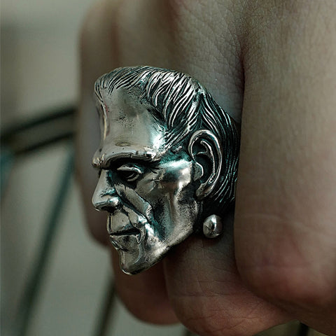 Image of Stainless Steel Frankenstein Ring